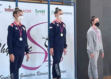 Brave le valenzane della Ritmica alla 1^ Prova dei Campionati Regionali Individuali e Specialità GOLD
